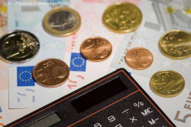 Geld Taschenrechner