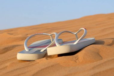 Urlaub Sandalen