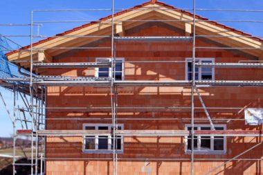 Bauleistung Neubau Eigenheim