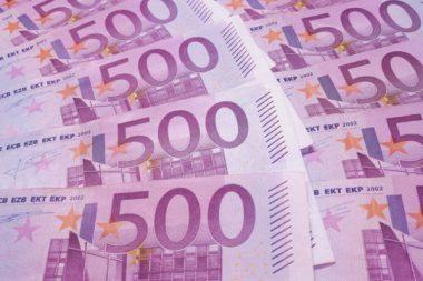 Geld Einzahlung Steuern Bargeld