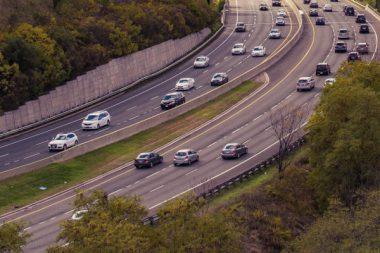 Autobahn Arbeitsweg