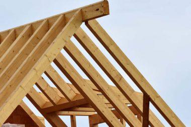 Baustelle Dach